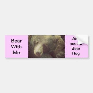 Bear Essentials Car Bumper Sticker