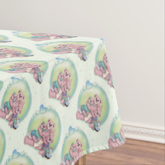 "BEAR FAMILY Tablecloth  60""x84"""