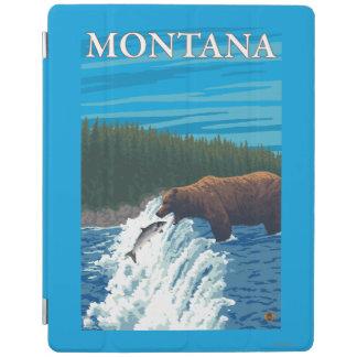 Bear Fishing in River - Montana iPad Cover
