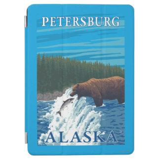 Bear Fishing in River - Petersburg, Alaska iPad Air Cover