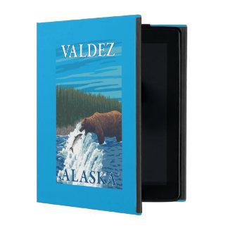 Bear Fishing in River - Valdez, Alaska iPad Folio Case
