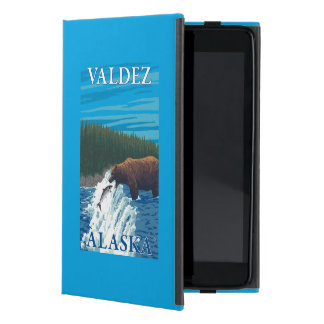 Bear Fishing in River - Valdez, Alaska iPad Mini Covers
