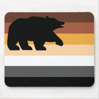 Bear Flag (bear) Mouse Pad