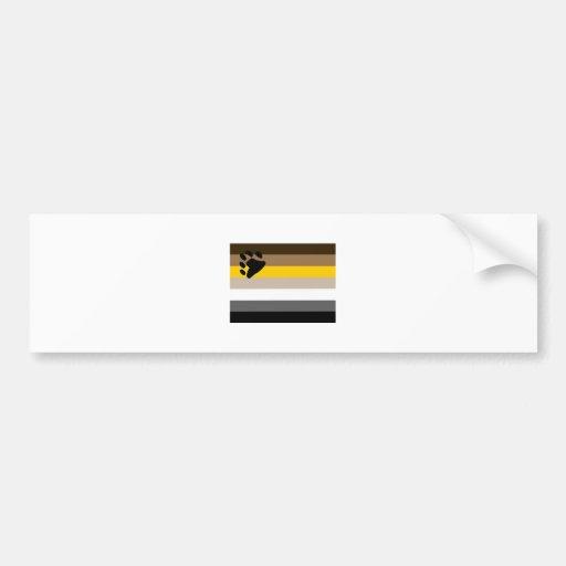 Bear Flag Bumper Sticker