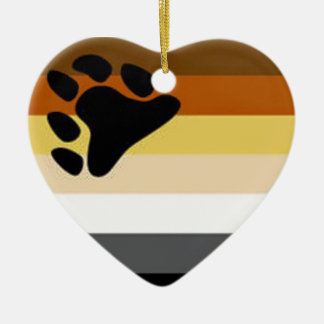 Bear Flag Christmas Ornament