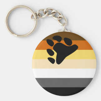 Bear Flag Keychain