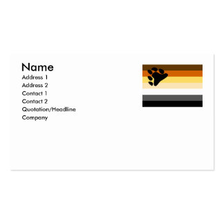 BEAR FLAG ORIGINAL -.png Business Card Template