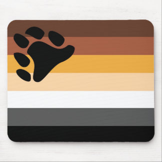 Bear Flag traditional Mouse Mat