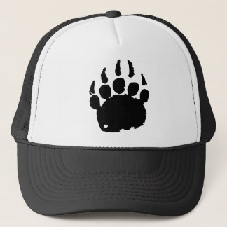 Bear Footprint Trucker Hat