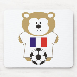 BEAR FRANCE MOUSE PADS