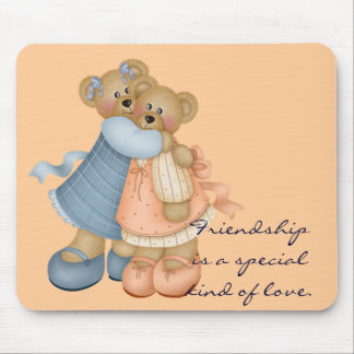 Bear Friends 3 - Friendship is Mouse Mat