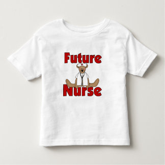 Bear Future Nurse Toddler T-Shirt
