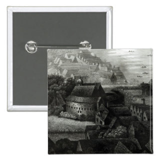 Bear Garden, 1647 15 Cm Square Badge