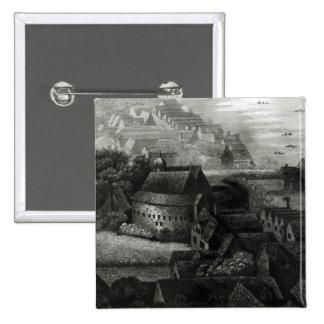 Bear Garden, 1647 Pinback Button