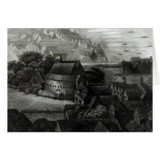 Bear Garden, 1647 Greeting Cards