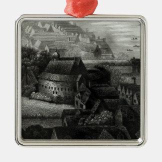 Bear Garden, 1647 Christmas Ornament