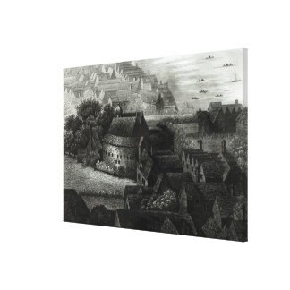Bear Garden, 1647 Gallery Wrapped Canvas