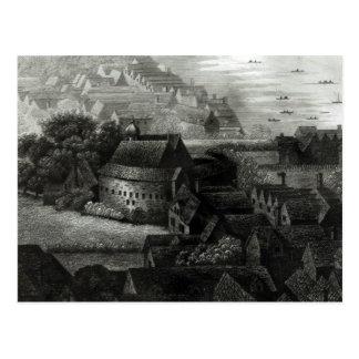 Bear Garden, 1647 Postcard