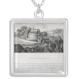 Bear Garden, 1647 Silver Plated Necklace