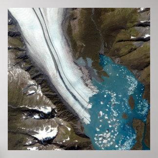 Bear Glacier Alaska Poster
