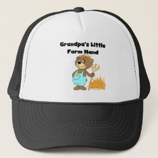 Bear Grandpas Farm Hand Trucker Hat