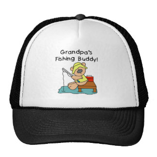 Bear Grandpas Fishing Buddy Cap