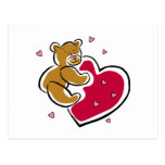 Bear Hug Post Card