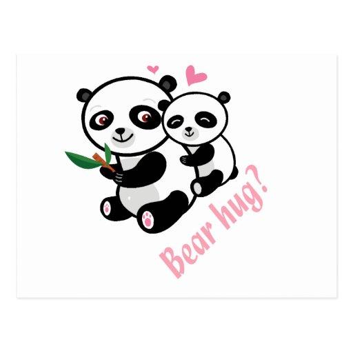 bear hug postcards