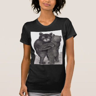 Bear Hug. Two bears hugging out in nature T-Shirt