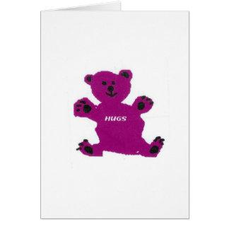 Bear hugs!!! card