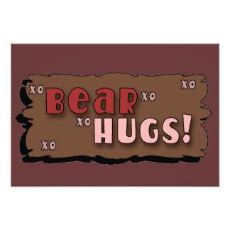 Bear Hugs Photo Art