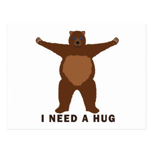 Bear Hugs Post Cards
