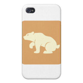Bear Icon Cases For iPhone 4