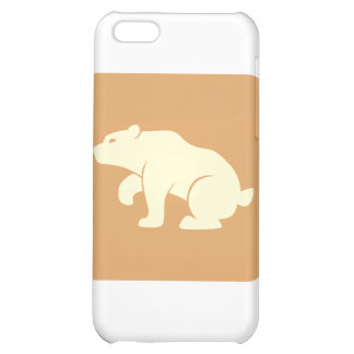 Bear Icon Cover For iPhone 5C