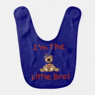 Bear I'm the New Bro Bib