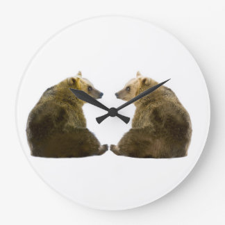 Bear image for Round-Large-Wall-Clock Wall Clock