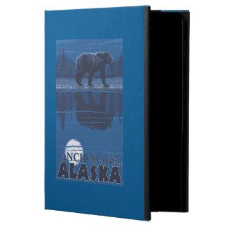 Bear in Moonlight - Anchorage, Alaska iPad Air Cases