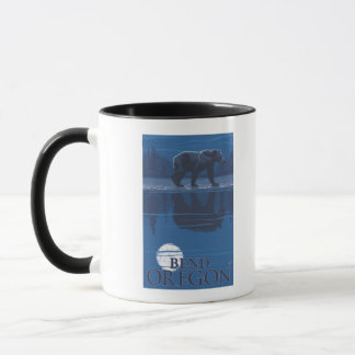Bear in Moonlight - Bend, Oregon Mug