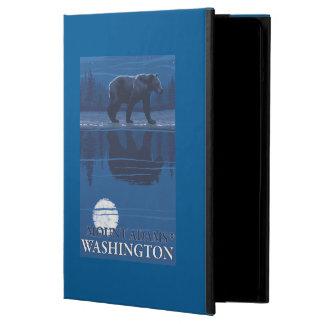 Bear in Moonlight - Mount Adams, Washington Case For iPad Air