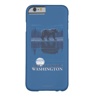 Bear in Moonlight - Mount Baker, Washington Barely There iPhone 6 Case