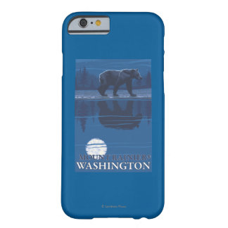 Bear in Moonlight - Mount Rainier, Washington Barely There iPhone 6 Case