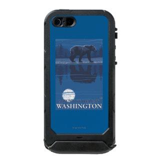 Bear in Moonlight - Mount St. Helens, Incipio ATLAS ID™ iPhone 5 Case