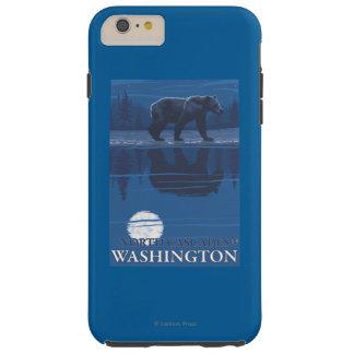 Bear in Moonlight - North Cascades, Washington Tough iPhone 6 Plus Case
