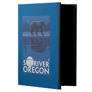 Bear in Moonlight - Sun River, Oregon Case For iPad Air