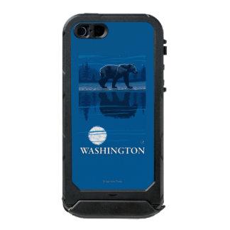 Bear in Moonlight - Washington Incipio ATLAS ID™ iPhone 5 Case