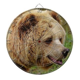 Bear in the wild dartboard