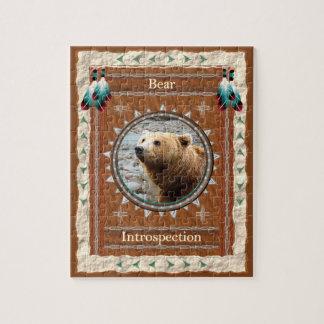 Bear -Introspection- Jigsaw Puzzle w/ Gift Box