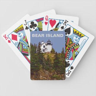 BEAR ISLAND BICYCLE PLAYING CARDS