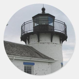 Bear Island Lighthouse Round Sticker