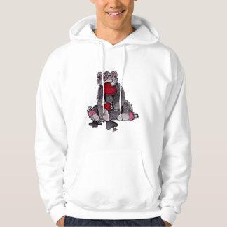Bear Joker Hoodies